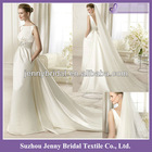 SP005 New arrival satin designer wedding dresses 2013
