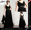 V-neck bodice waist chiffon Mother Dress with Jackets sexy mother of the bride