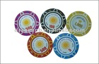 Three-color Plastic Poker Chips