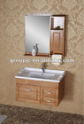 SOLID WOODEN CABINET WITH CERAMIC BASIN (MODEL NO.:830)