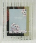 Glass picture frame , mirrored photo frame with diamond decorative. photo frame factory