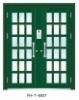 Exterior Galvanized Fluorocarbon Double Door FHT-8007