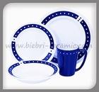 Blue Stoneware Dinner Sets
