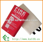Glassfibre Fire Blanket PVC Hard Box 1.0*1.0m