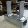 galvanized cast-in c channel