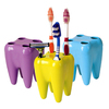 Tooth Shape toothbrush holder