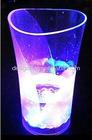 Flash color led shot cup for chrismas