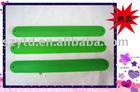 new style green silicone slap bracelet