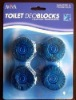 Blue Toilet cleaner, toilet detergent,toilet block, toilet bowl cleaner