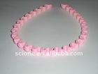 black alice band plastic hair band