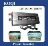 Modified sine wave 12V/24V -220V/110V Car Power Inverter with Charger Function 3000w (P-3000)