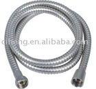 Stainless steel satin-plated hose
