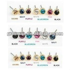 wholesale cheap crystal stud earrings 2012