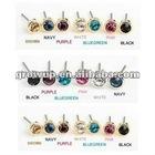 wholesale cheap crystal stud earrings 2012