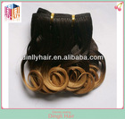 Wholesale cheap fashion two tone remy hair extension