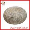 Handmade woven outdoor eva seat mat,grass woven mat