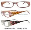The latest fashion designs injection plastic reading glasses