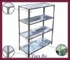 hot!!! slotted angle shelves/light duty storage shelves/warehouse shelving