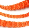 Halloween Decorations HALLOWEEN Paper GARLAND(Orange PUMPKINS)Party