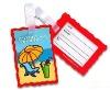Soft PVC Luggage Tag BKSLT-1030