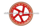 145MM PU WHEELS, SCOOTER PARTS & ACCESSORIES, SCOOTER PU WHEELS, KICK SCOOTER PARTS