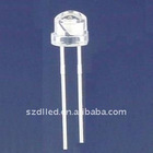 5mm white round LED