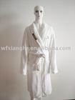 Coral fleece bathrobe