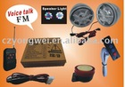 Motorcycle Alarm System MP3 Audio 666B