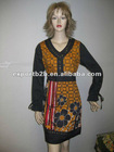 women alover printed beeds dress