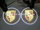 3D car led decoration light with logo projection