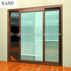 Kaho Newest hollow shutter glass for doors