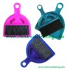 colorful car cleaning duster with pan