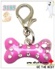 2012 hot bone pet dog charms with palm and rhinestone
