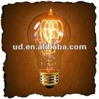 Antique Edision Rustika A19 R-Shape NOSTALGIC SPIRAL Carbon Filament Bulb-Golden Version