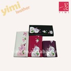 2011 PU wallet with flower printing