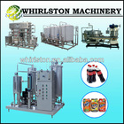 whirlston automatic complete processing line for gas beverage