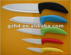 6 pieces ceramic knife with ceramic handle