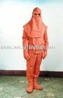 Flame retardant and arc proof work clothes(nanometer coating)