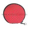hot sale red neoprene CD holder bags for 12 pcs