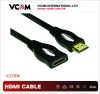 HDMI 19 male to female extension HDMI cable