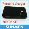 mobile phone battery charger with double USB output