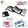 Educational toys! 49 keys silicone roll up piano ! Silicone piano