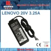 Replacement Laptop AC Adapter 20V 3.25A for LENOVO (5.5*2.5mm)