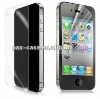 Front and Back Clear Screen Protector for iPhone 4 4S