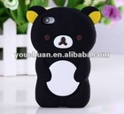 Cute 3D rilakkuma bear for mobile phone i9100 cover case