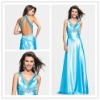 Goingwedding fashion backless floor length satin Evening Dress 2012 ED090