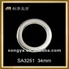 metal bag round ring