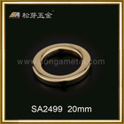 SA2499 20mm golden zinc alloy o ring buckle