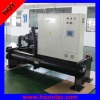 Water cooled screw type chiller unit