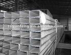 rectangular tube sizes